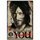 The Walking Dead Daryl·Dixon Wants You Art Silk Poster 8x12 24x36 24x43