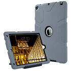 ULAK iPad Air 2 Case, 3in1 Hybrid Robot Guard Heavy Duty Shockproof Case Cover