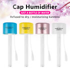 USB Mini Water Bottle Caps Humidifier Air Diffuser Aroma Mist Maker Home Travel#