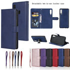 Magnetic Leather Removable Detachable 2in1 Wallet Flip Phone Case Cover iphone