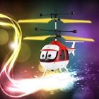 Induction Flying Toys RC Helicopter Cartoon Remote Control Drone Kid Plane Toy C