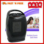Royalsell Space Heater 1500W Quick Heat Ceramic Heater Safety Tip Conditioners