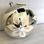 Hand Blown & Painted Glass Christmas Holiday Ornament