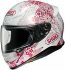 Shoei RF-1200 Harmonic Full Face Helmet WHITE PINK FLOWERS SHIPS FREE
