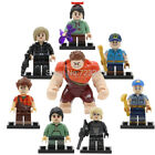 Wreck-It Ralph Figure Vanellope Fix-It Felix Jean Lego Building Block