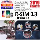 R-Sim RSIM 13 2019 Nano Unlock Card fits iPhone XS/8/7/6/6S 4G LTE IOS 11 12 lot