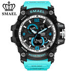 SMAEL Men Military Wacth Big Face Male Quartz Watches Outdoor Sports Wristwatch image