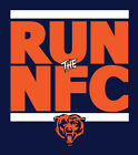 Chicago Bears RUN the NFC shirt NFL Playoffs Superbowl Super Bowl t-shirt Chi on eBay