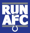 Indianapolis Colts RUN the AFC shirt NFL Playoffs Superbowl Super Bowl t-shirt on eBay