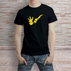 JOHNNY BRAVO Logo Like Elvis Cartoon TV Show Tshirt Tee