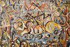 Jackson-Pollock Abstract Expressionism Printed Wall Picture Multisize #M301