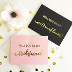 Внешний вид - Will You Be My Bridesmaid Maid of Honor Wedding Party Question Card Q47167