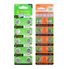 AG0-AG13 391 394 LR54 Coin Cell Button Batteries For Watch 1.55V