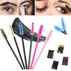 100 x disposable eyelash brush mascara wands lash spoolers extension applicator