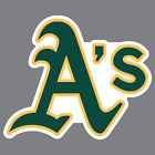 Oakland A's Athletics Vinyl Sticker / Decal * MLB * AL * West * Baseball * CA *