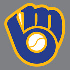Milwaukee Brewers Vinyl Sticker / Decal * MLB * NL * Central * Baseball * WI *