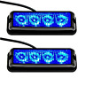 Strobelight Bar 4 LED with Super Bright Emergency Beacon Flash Caution Strobe 17