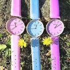Women Girl Watch Waterproof Japanese Movement Temperature Sun UV Color Change 1 image