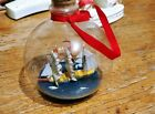 Ship in a Bottle Christmas Ornament Sail Boat very nice gift