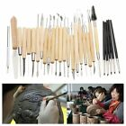 27pcs/Set Professional Clay and Pottry Sculpture Tools Set Silicone Rubber Sh…