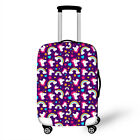 "3D Print Design Travel Suitcase Protector Trolley Case Cover 18""-28"" Luggage"