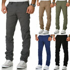 Herren Regular Slim Strech Chino Jeans Hose Fit 7009-10