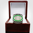 NFL New York Jets 1968 Super Bowl World Championship Rings Namath Box Men Gift