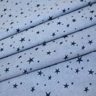 Chambray - Stars - Navy on Mid Blue. Higgs and Higgs exclusive design 100% Co