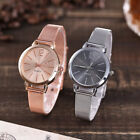 Women's Popular Quartz Stainless Steel Band Watch Marble Strap Casual Watches