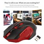 Silent Wireless Optical Mouse Gaming Mouse For Laptop PC USB Receiver YX20184 vE