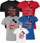 Our Disney Family Vacation 2019 Mickey & Minnie funny cute Customized T-Shirts