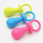 Dog Cat Puppy Pet Pacifier Tooth Cleaning Pacifier TPR Rubber Teething Toys