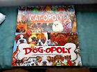 Lot of 2 Monopoly Style Games-Cat-opoly and Dog-opoly by Late for the Sky
