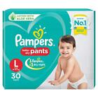 Pampers Large Size (9 -14Kg) Dry Soft Comfortable Fit Disposable Diaper Pants RG