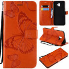 For Samsung Galaxy J3 J4 J6 J7 2018 Magnetic Card Wallet Flip Leather Case Cover