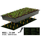 Seedling Heat Mat Hydroponic Seed Reptile Plant Heating Pad with Power-Of