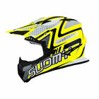 Suomy Rumble Snake MX Helmet Yellow Off-road ATV BMX MTB All Sizes