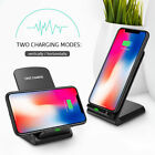 FDGAO Qi Wireless Charger Slim 10W Fast Charging Stand Dock For iPhone X XS XR 8 <br/> For iPhone Xs Max 8plus /For Samsung S9 S8 S7 S6 Note 8