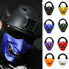2019 Japan Adult Ghost Prajna Half Face Mask Party Masquerade Game Cosplay Props