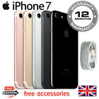 Apple iPhone 7 32GB 128GB 256GB Unlocked SIM Smartphone Colours Grades UK Seller