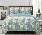 Freya Oversize Coverlet/Bedspread Set Oversized Quilt To Fit Thicker Mattress image
