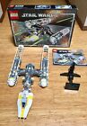 New Price LEGO StarWars Y-Wing Attack Starfighter 10134 Compl. W/Box And Manual
