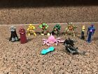 Teenage Mutant Ninja Turles (12) Lot of Play Figures / PVC Cake Toppers TMNT