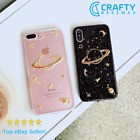 3D Space Planet Star Glitter iPhone Case    FAST Dispatch!