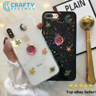 Moon Star Space Planet Glitter iPhone Case || FAST Dispatch!