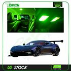 14x Car Interior Light LED Package Kit Bulbs For Chevy Avalanche 2002-2006 Green