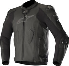 Alpinestars Missile Tech Air Compatible Leather Jacket BLACK SHIPS FREE