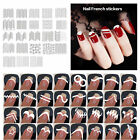 French Tip Guides Sticker Manicure Stripe Edge Nail Art Toes Decoration DIY