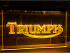 Triumph Motorcycles Neon Sign Bar Pub Man Cave Advertising Etc New £29.99 GBP on eBay