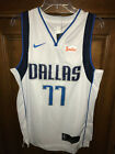 Luka Doncic Dallas Mavericks white home jersey